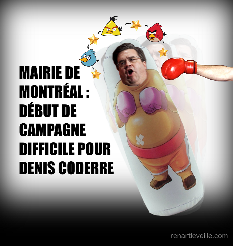 Denis Coderre campagne