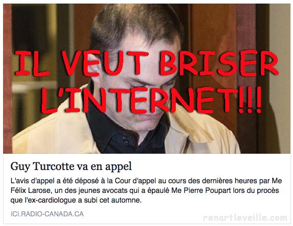 Briser l'internet